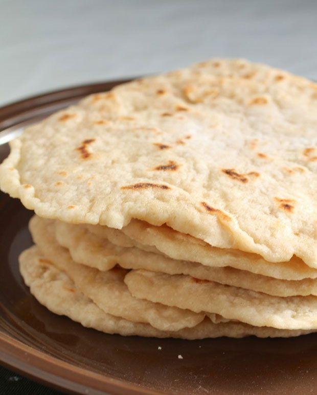 how to cook flour tortillas