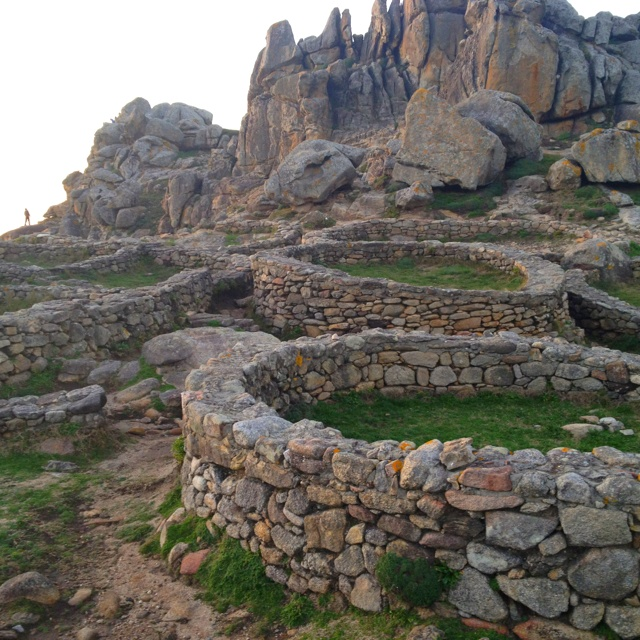 Castros de Baroña, from the Celts - Galicia Spain