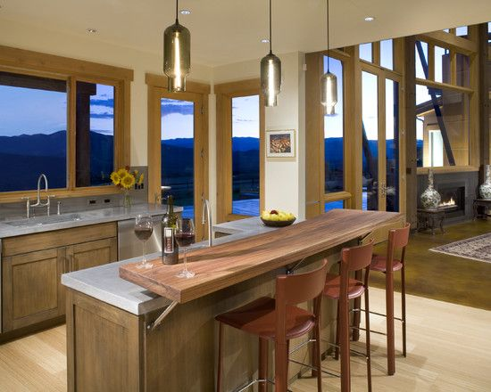 Raised Eating Breakfast Bar Design, Pictures, Remodel, Decor and Ideas - page 5