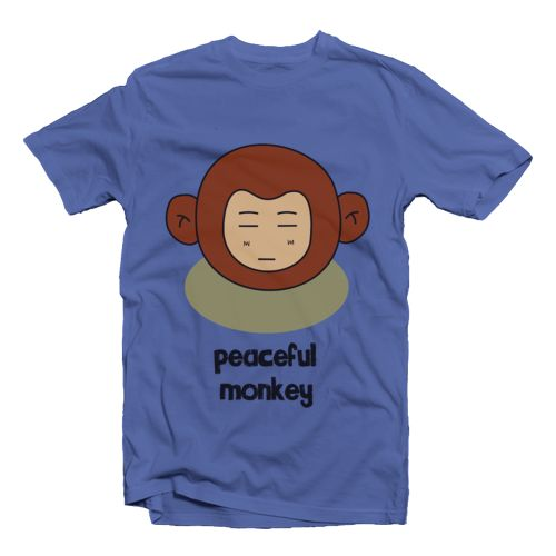 Peaceful Monkey Oleh KevinKev. Shop
