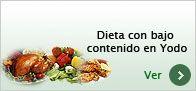 Extras - Dieta con bajo contenido en yodo