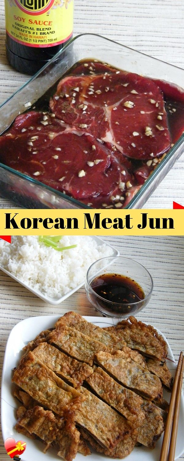 Try this island favorite meat jun Korean style recipe with a tasty dipping sauce. Delicious hot or cold. Get more delicious local style recipes here.