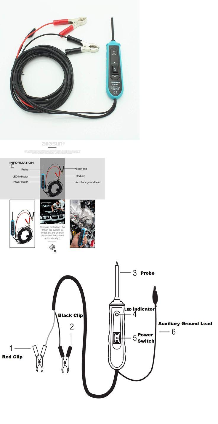 Details about automobile electric circuit tester short