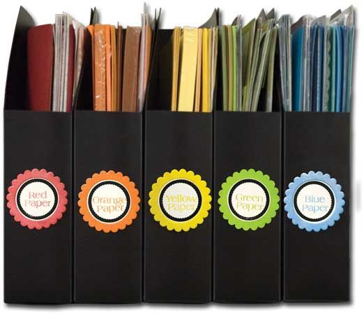 1000+ images about Scrapbook organizing ideas on Pinterest ...