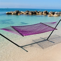 Caribbean Rope Hammock (Purple) $84.99