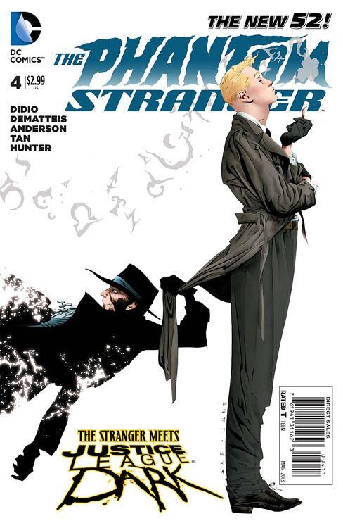 Jae Lee - The Phantom Stranger and John Constantine