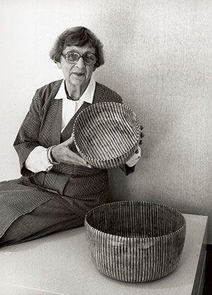 Gertrud Vasegaard (1913-2007) was a third-generation Danish potter. She lived and breathed ceramics until her death at 94.