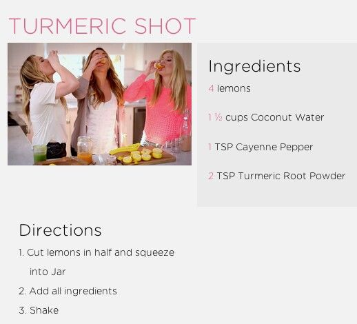 Hailey Duffs Turmeric Shot