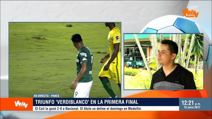 Héctor Cárdenas, tras la victoria de Cali 2 0 sobre Nacional en la final...