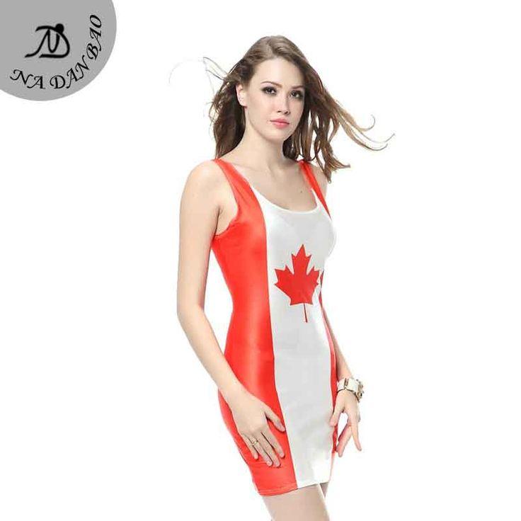 Summer dress canada flag