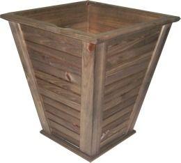 cachepot vante m de madeira rústico