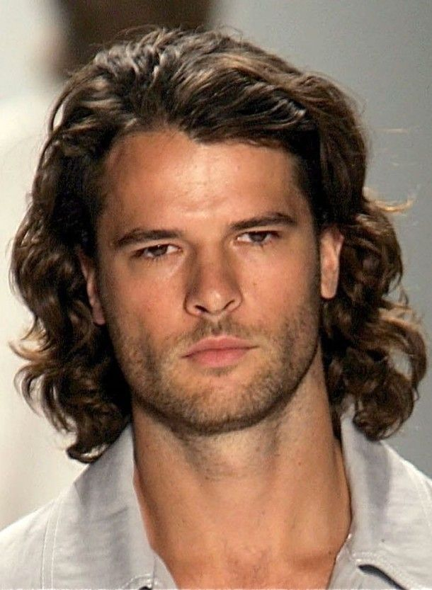 Mens Long Hair Curly Hairstyles Mens Long Hairstyles