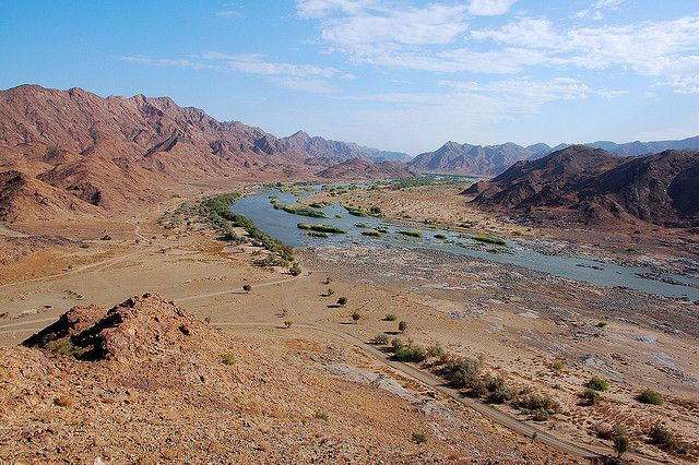 The Orange River. South Africa and Namibia's natural border | Flickr - Photo Sharing!