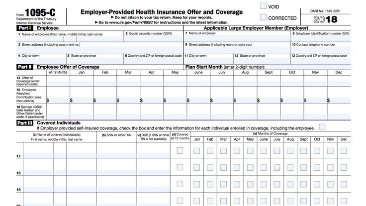 What To Do With The Tax Form 1095 C Tax Forms Affordable Health Insurance Plans Affordable Health Insurance