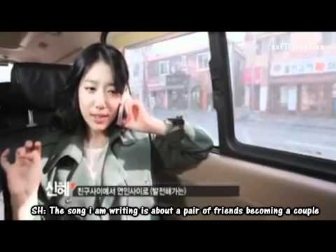 Have a call phone with Hongki