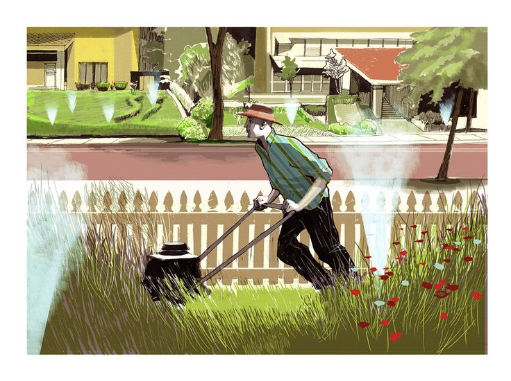 Alex Green www.folioart.co.uk/alexgreen #illustration #painting #lifestyle #sketch