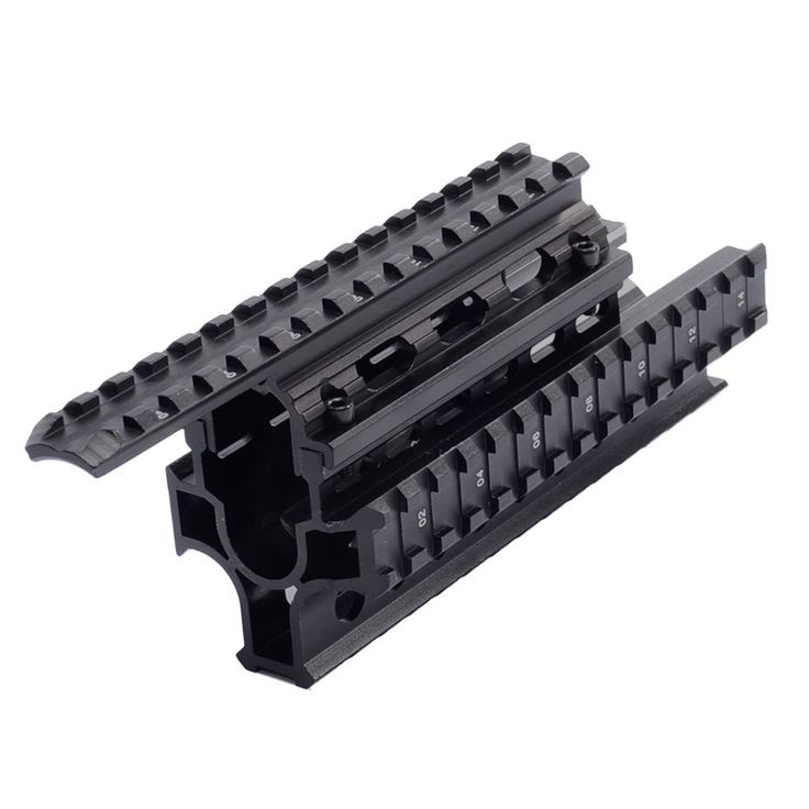 AMD-65 Tactical Quad Rails Handguard Picatinny Rail  Forend Drop-in RIS Quad Rail Hunting Accessories