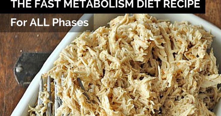 The Fast Metabolism Diet: Slow Cooker Shredded Chicken - Great for all The Fast Metabolism Diet Phases