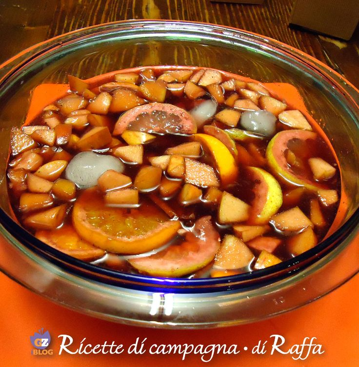 Sangria: come prepararla in casa
