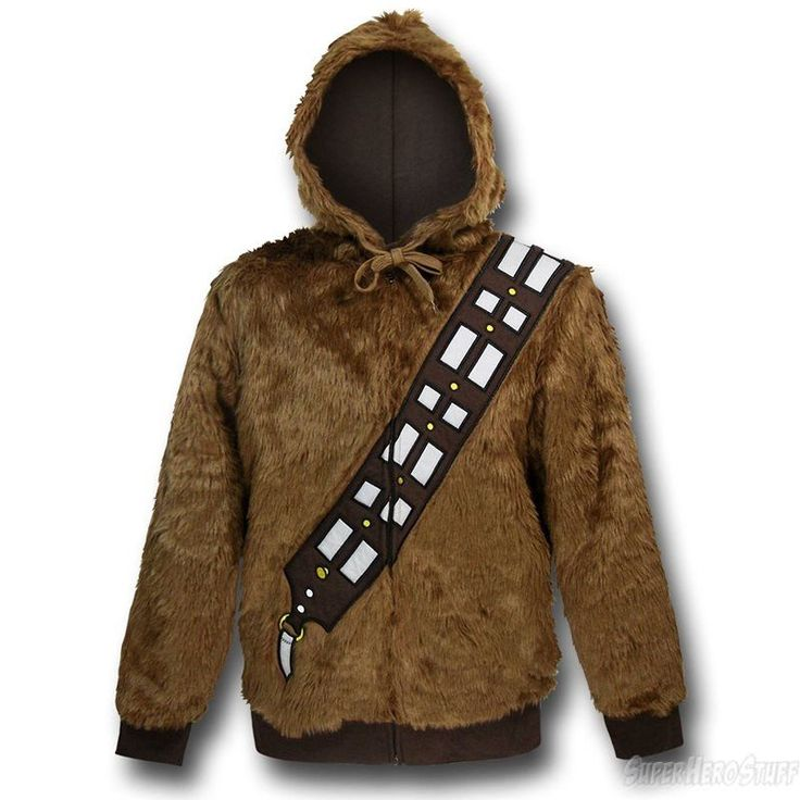 Star Wars Chewbacca Costume Zip-Up Hoodie