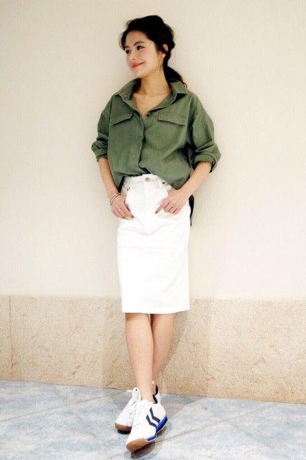 シンプルに大人っぽく♡おすすめの人気モテ ロングスカートのトレンド一覧です♡