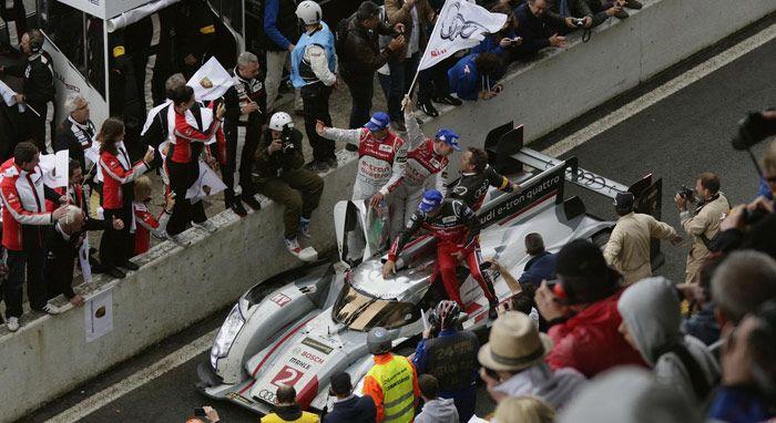 Audi Sport 12 Kali Menang Balap 24 Hours of Le Mans