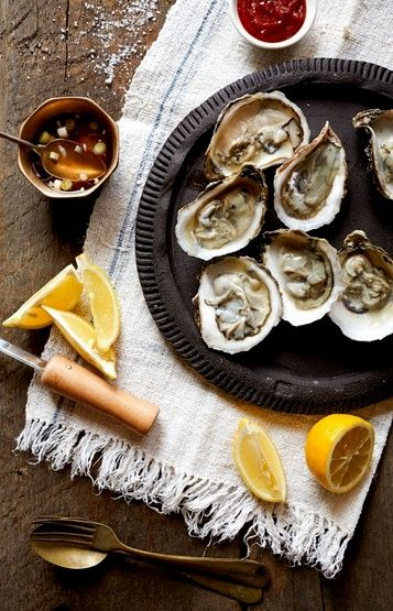 Oysters are nature's answer to viagra!  They can also regulate egg production