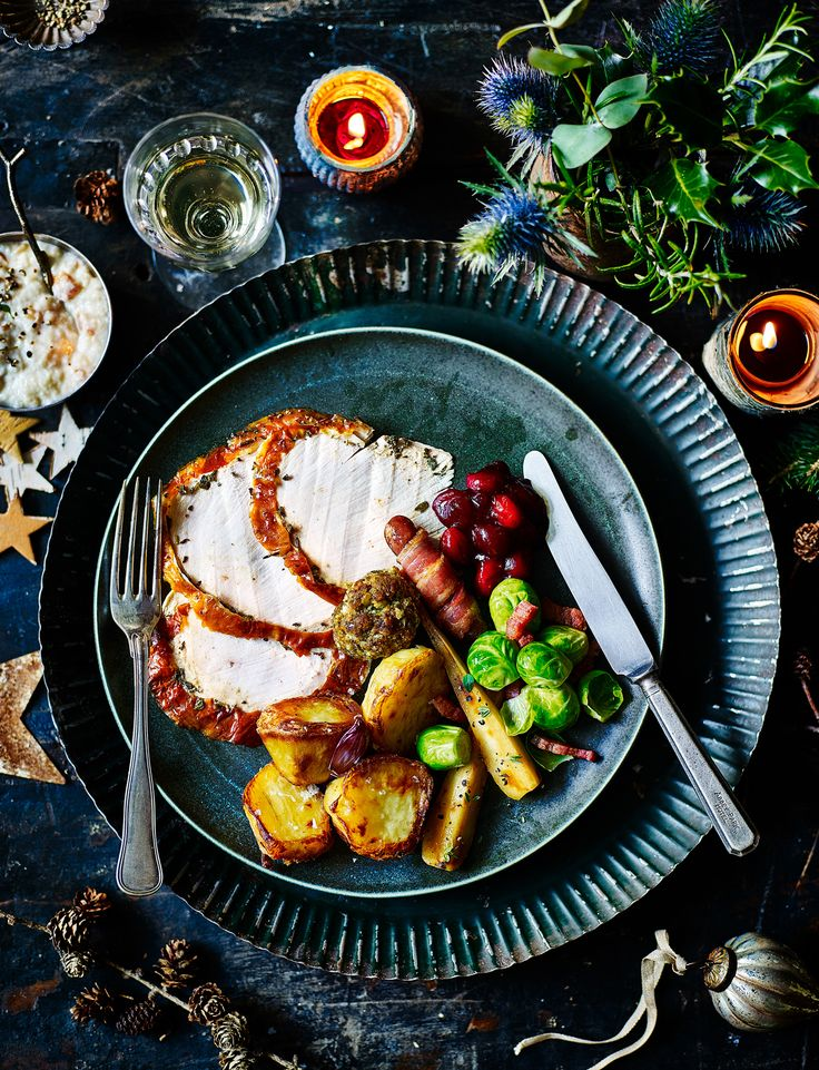 Our gluten-free sage butter-basted turkey crown is deliciously moist, and perfect for those who prefer the white meat