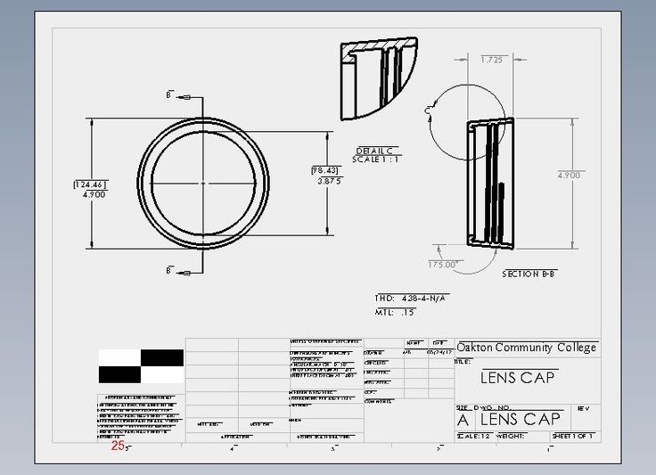 Flashlight Assembly Lens Cap
