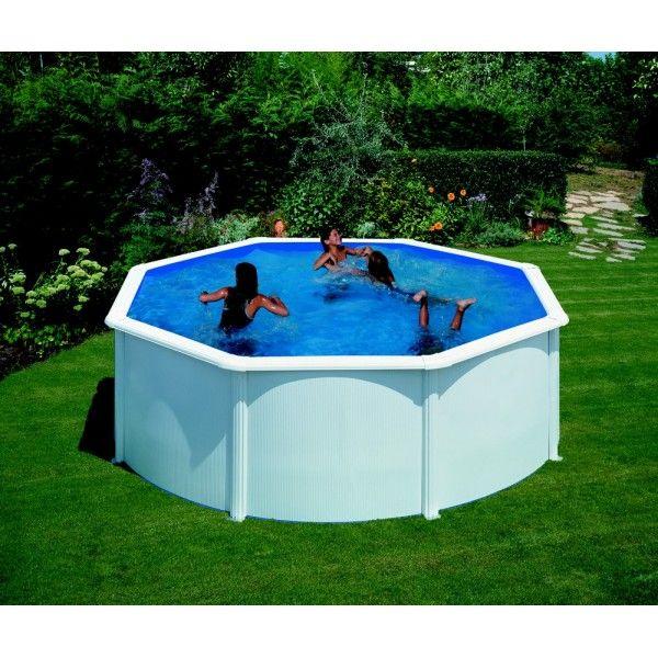 Kit piscine hors sol acier 3,00m x 1,20m