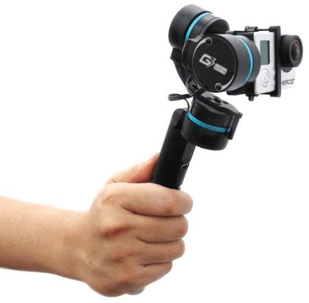 Feiyu G3 Ultra 3-Axis Handheld Gimbal for GoPro HERO 3 3+ and 4 (Black)