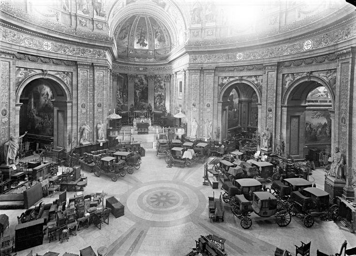Madrid, Basílica de San Francisco durante la Guerra Civil