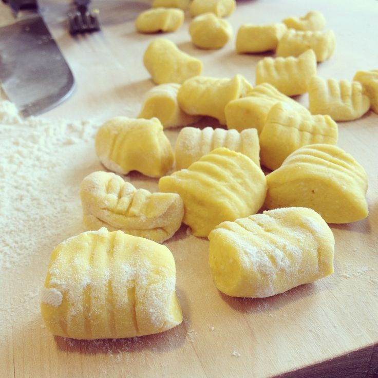 Pumpkin Ricotta #Gnocchi with Brown Butter Sage #Recipe & Video ...