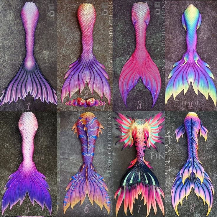 What tail would YOU choose?!  Custom silicone mermaid tails by Finfolk Productions Www.finfolkproductions.com Facebook.com/finfolkproductions Instagram.com/finfolkproductions  CONTACT finfolkproductions@gmail.com to order!