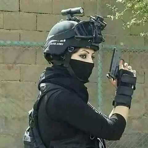 cute army girl