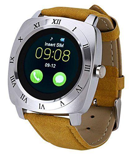 #Life Like X3 Bluetooth #Smart #Watch Yellow Color