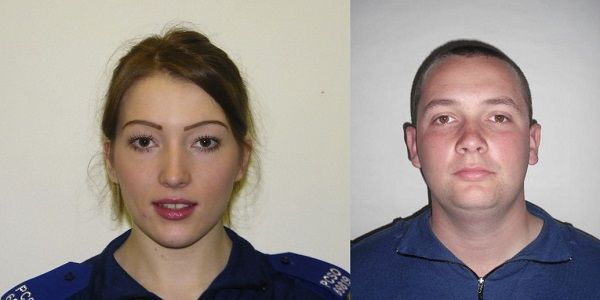 Police Community Support Officers jailed for framing innocent man http://www.cumbriacrack.com/wp-content/uploads/2017/03/Jessica-Hussell-and-Thomas-Fendall.jpg Two Police Community Support Officers who framed an innocent man have been jailed.    http://www.cumbriacrack.com/2017/03/17/police-community-support-officers-jailed-framing-innocent-man/
