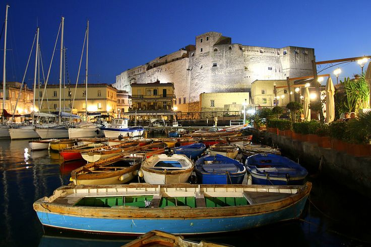 ABM (Another Blue Monday) / Castel dell'Ovo (Egg castle), Naples, Italy | Flickr - Photo Sharing!