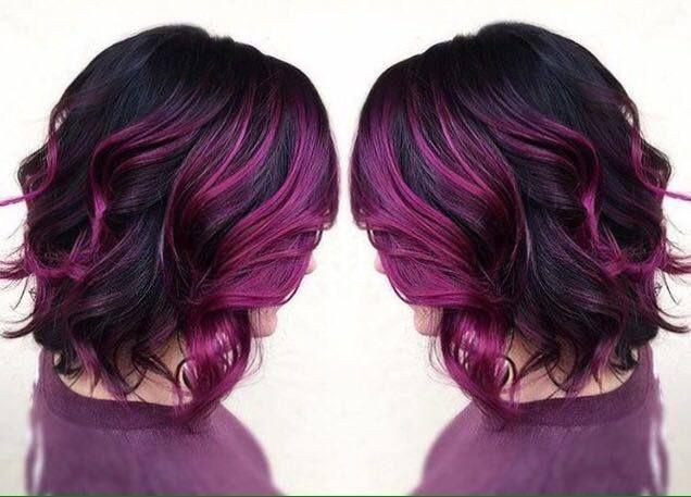 Trendfrisuren und farben
