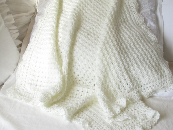 Beautiful Knit Baby Blanket