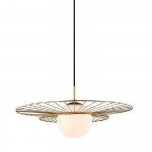 Lampa Sufitowa Alison Zlota Kula Italux Mdm 4001 1 Gd Ciekawe