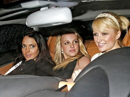 Lindsay Lohan, Britney Spears & Paris Hilton - The beginning of the end