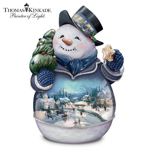 Thomas Kinkade Snowman