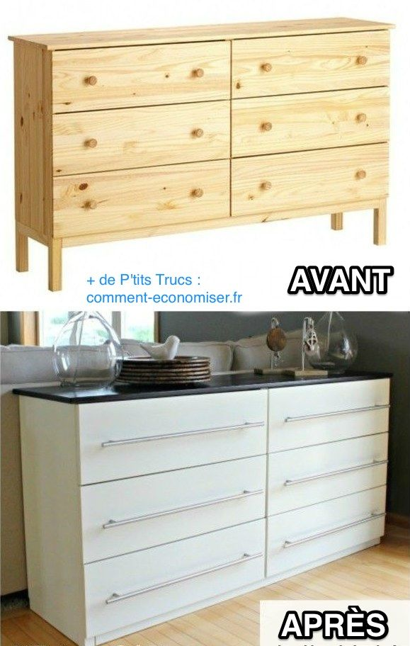 Transformer une commode ikea en buffet de cuisine