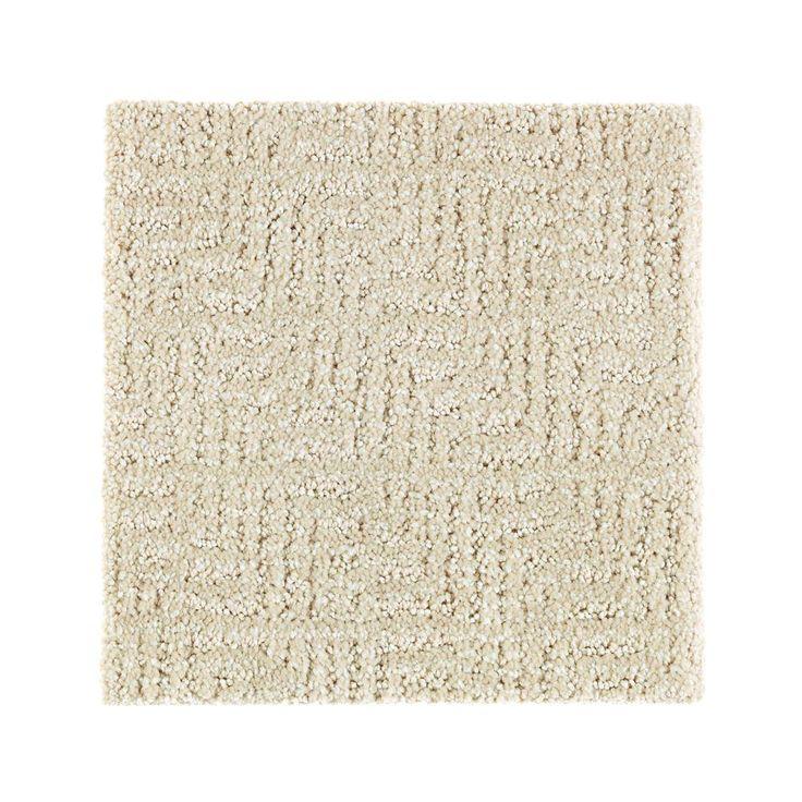 Carpet Sample - Scarlet - Color Dry Gourd Pattern 8 in. x 8 in.