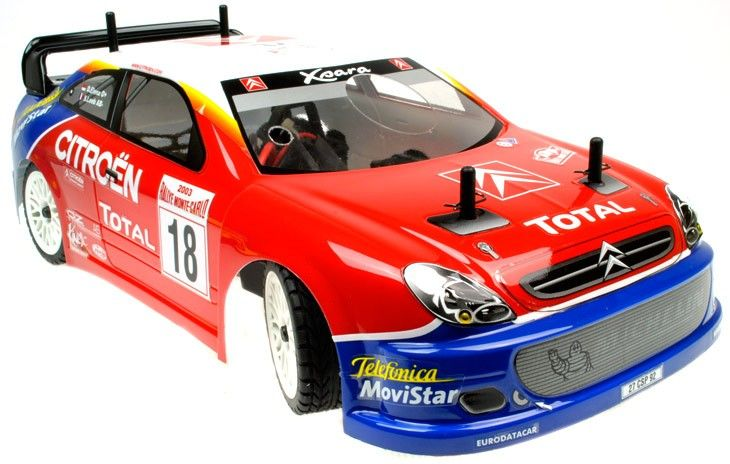 GS Racing Vision EvoE Citroen RTR Brushless RC Car - http://www.nitrotek.co.uk/241.html