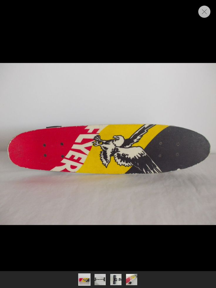 Saturn Flyer fibreglass skateboard