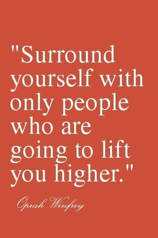 surround urself...