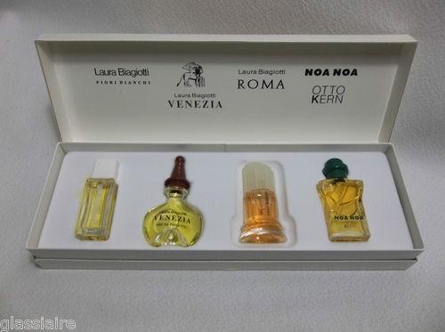Laura Biagiotti VENEZIA ROMA FIORI BIANCHI Otto Kern NOA NOA Perfume Collection
