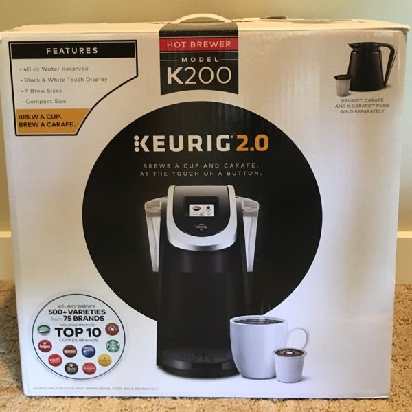 For Sale: Keurig K200 Coffee Machine  for $100
